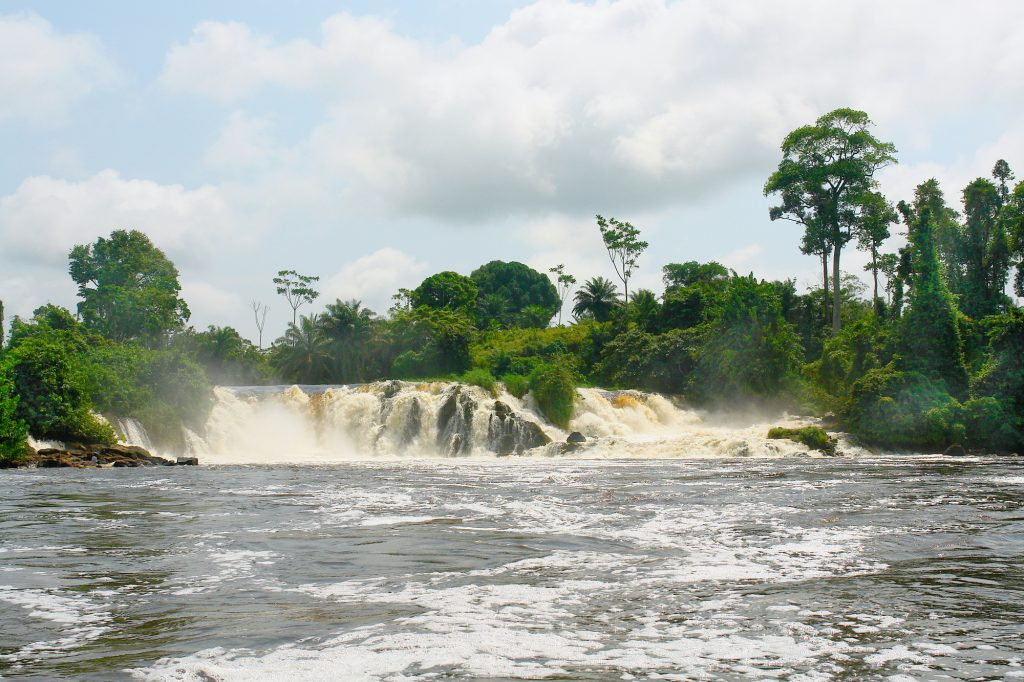 Waterfall Image Blogpost Energy Masterplan Central Africa