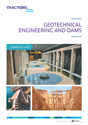Thumbnail Geotechnical Engineering and Dams